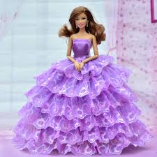 new handmade 2015 beautiful doll clothes for barbie doll dress