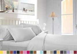 Bed Sheet 1800 Count Deep Pocket 4 Piece Bed Sheet Set 26 Colors And All