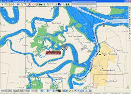 Amelia Island Map Heading North