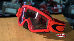oakley motocross goggles oakley l frame mx goggles review chapmoto com youtube
