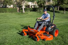 new kubota zero turn mowers roll out with speed torque