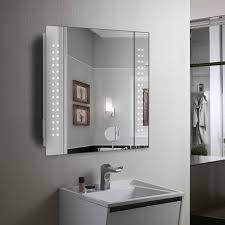Illuminated Bathroom Wall Mirror Best Choice Of Mirror Cabinet 60 Led Light Illuminated Bathroom In
