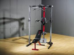 power rack cap strength home gym total body weight trainer workout