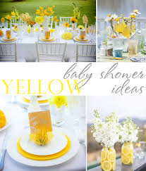 yellow baby shower ideas yellow outdoor baby shower ideas designs ideas and decors how