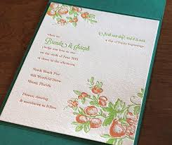 Invitation Pocket Spring Themed Wedding Invitation Gallery Beginnings