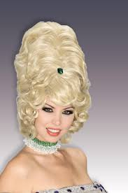 4d hair 60 s 70 s retro beehive wig tall hair victorian queen western