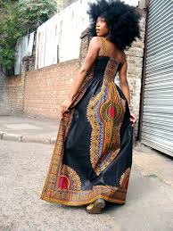 long black dashiki dress made in africa exports online store