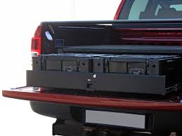 Ford Ranger Truck Bed Accessories - ranger t6 dc wolf pack drawer kit by front runner