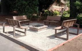 Firepit Bench Great Outdoor Pits Paint Modern Wood Fence Designs