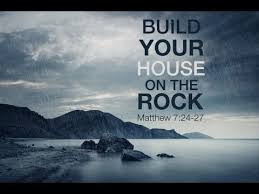 how to go about building a house sunday sermon summary building your house on the rock youtube