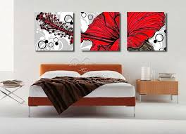 Decorating Items For Home Online Shop 3 Panel Modern Wall Painting Home Decorative Art