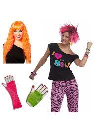 100 halloween costumes 1980s theme 80s wave singer costume