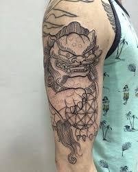 75 fantastic foo dog tattoo ideas u2013 a creature rich in symbolic