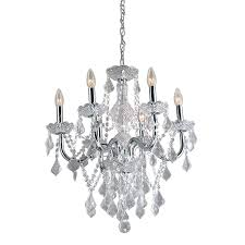 Crystal And Gold Chandelier Shop Chandeliers At Lowes Com