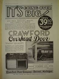Overhead Door Michigan Vintage Household Ads Of The 1930s Page 19