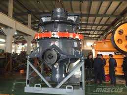 ch660 sandvik cone crusher crushers year of manufacture 2017