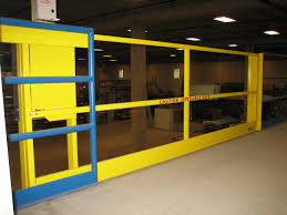 horizontal mezzanine gates mezzanine fall protection mezzanine