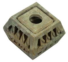 home decor essentials soapstone incense holder with open work carving u2013antique look