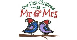 our as mr and mrs applique machine embroidery