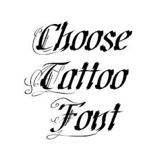 different unique fonts for tattoos font generator