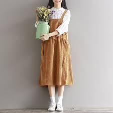 online get cheap corduroy midi dress aliexpress com alibaba group