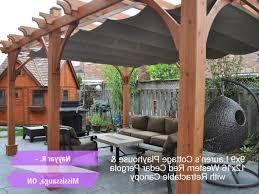 outdoor living today 12 16 breeze pergola retractable canopy 12 x