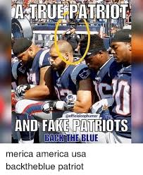 Merica Meme - and fake patriots back the blue merica america usa backtheblue