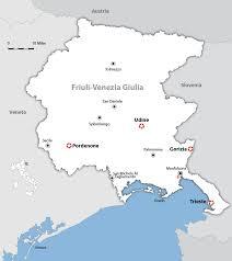 udine italy map friuli venezia giulia map and guide wandering italy