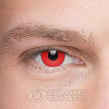 halloween store contact lenses halloween 90 day reusable red coloured contact lenses coloured