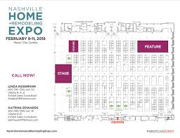floor plan exhibitor rates u0026 contract for the nashville home