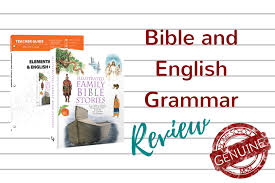 masterbooks elementary bible and english grammar review the