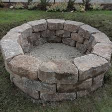 lowes wood burning fire pits how to build a fire pit ring