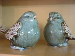 vintage brown bird antique figurine brown bird on by thebackshak