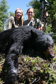 target black friday 36 inch bear friends get their bears on first bow hunt in canadian woods that