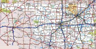 Washington Map With Cities by Oklahoma Road Map