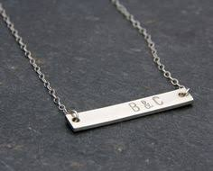 personalized silver bar necklace birthstone bar necklace mothers jewelry gold bar necklace