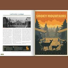 illustrated guide to great smoky mountains national park hard