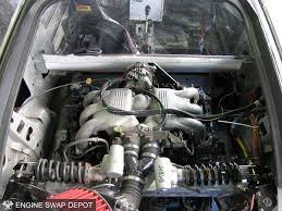 wreck racing u0027s honda insight with a subaru flat six car