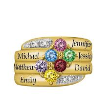 personalized birthstone jewelry family is everything personalized birthstone diamond ring the