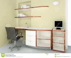 Moderner Schreibtisch Moderner Schreibtisch Stock Abbildung Bild Von Arbeitsplatz 3691803