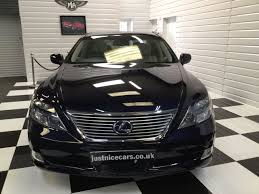 lexus hybrid uk used used lexus ls 600h l 5 0 v8 4dr cvt auto rear relaxation pack