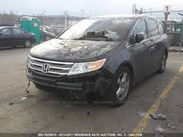 honda odyssey car parts used 2012 honda odyssey rear decklid tailgate touring parts