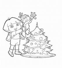 boots monkey coloring pages happy swinging boots dora