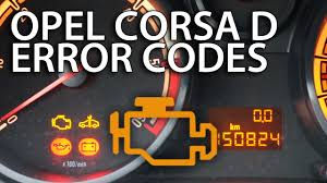 how to read dtcs opel corsa d vauxhall diagnostic trouble