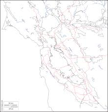 America Map San Francisco by San Francisco Bay Free Map Free Blank Map Free Outline Map
