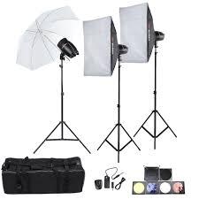 cheap umbrella lighting kit tolifo professional photography photo studio speedlite lighting l
