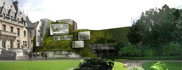 chambre de commerce amiens formes complexes pour façade végétale chantiers