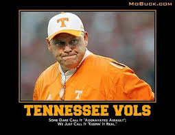Tennessee Vols Memes - demotivational posters of sec football 22 pics b on the ball