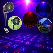 Remote Control Landscape Lighting - remote control red blue star laser projector landscape lighting