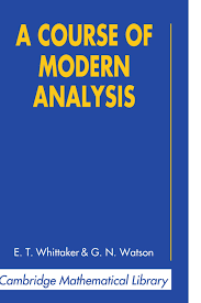 a course of modern analysis cambridge mathematical library